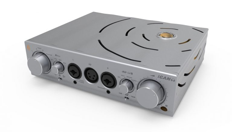 Pro iCAN Headphone Amp by ifi Audio